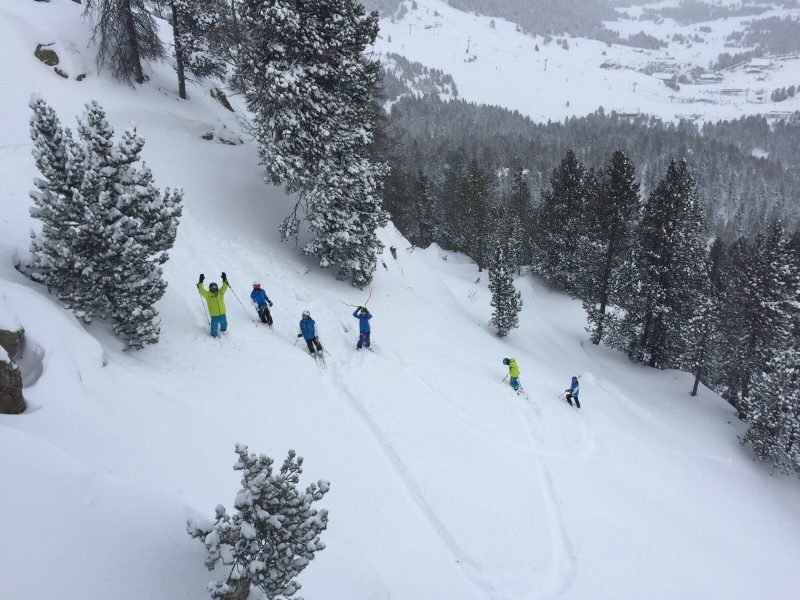 cim esqui club neu pols grandvalira 28-12-17
